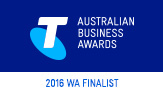 2016 Telstra Australian Business Awards WA Finalist